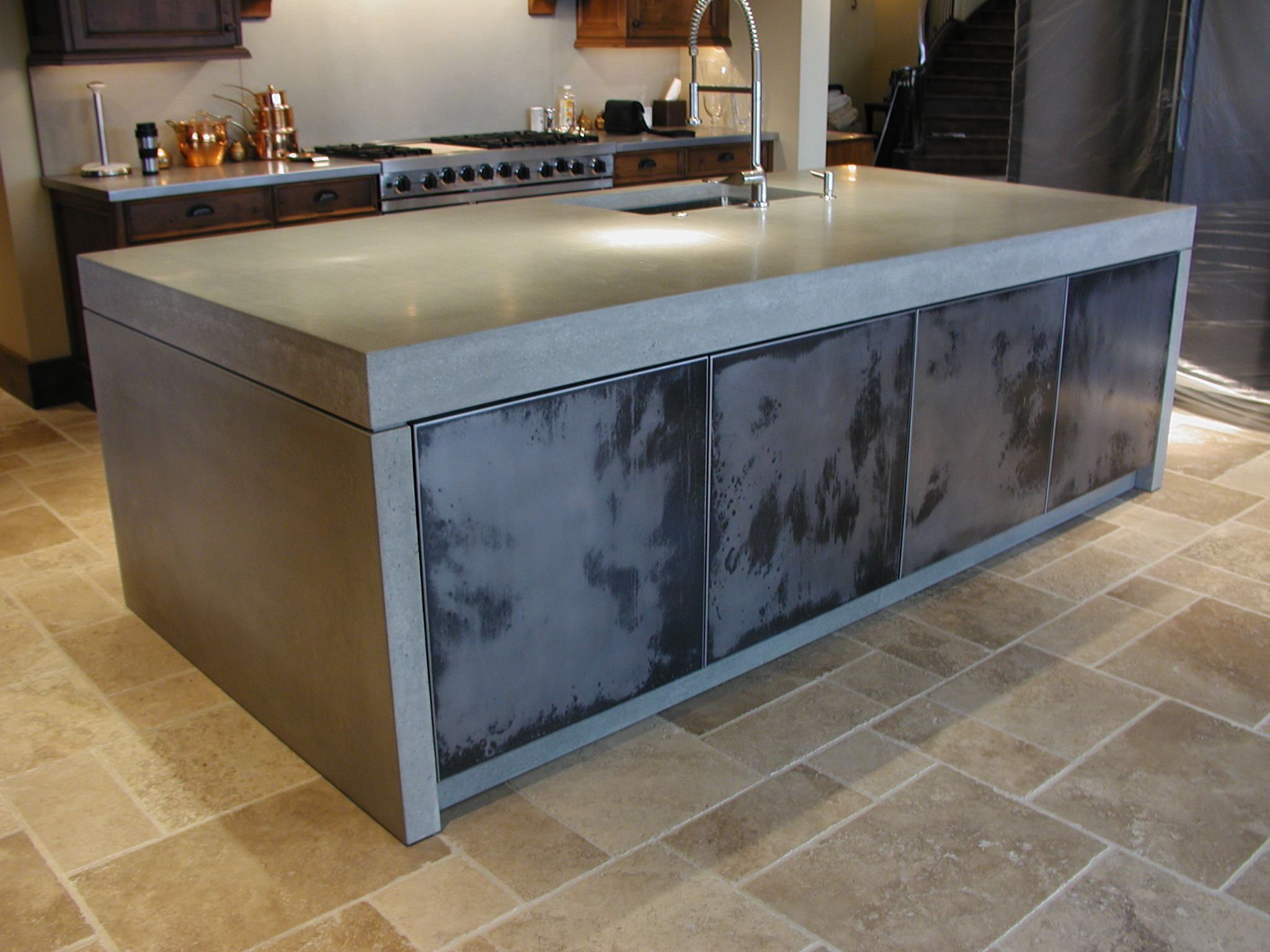 How much do concrete countertops cost?
